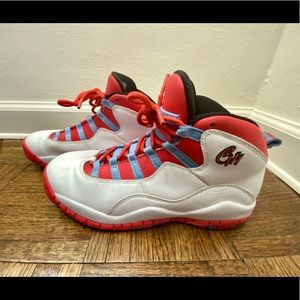 Air Jordan Retro 10 Chicago - White/Crimson 6.5Y